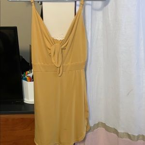Mustard Yellow Romper Size Medium